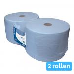 Industriepapier blauw 1-lg 2x1000mtr 23cm