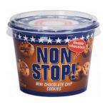 Non Stop Double Choco Chip Cookies 65 gr 8 potten