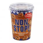 Non Stop Double Choco Chip Cookies 125 gr 8 potten