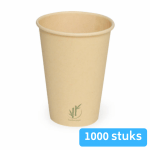Depa Bamboe Koffiebeker naturel 350 ml 12oz 20 x 50 stuks