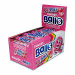 Rocket Balls Aardbei 5-pack 50 stuks