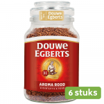 Douwe Egberts | Oploskoffie | Aroma Rood | 6 x 200 gram