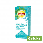 Lipton Green Tea Mint 6 x 25 stuks