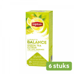 Lipton | Green Tea Citrus | 6 x 25 zakjes