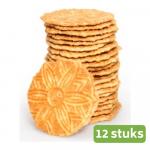 Zeeuwse Suikerwafel horeca 12 stuks