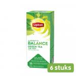 Lipton Green Tea 6 x 25 zakjes