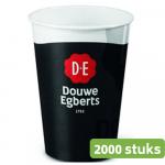 Douwe Egberts | Koffiebeker | Karton | 180 ml | 2000 stuks