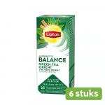 Lipton Green Tea Orient 6 x 25 zakjes