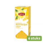 Lipton | Thee Lemon | 6 x 25 zakjes