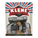 Klene Zoute & Salmiak Mix 300 gr 8 zakjes