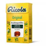 Ricola Original suikervrij 50 gr 20 doosjes