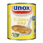 Unox stevige kippensoep 12 x 0,3 liter