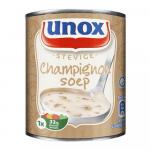 Unox stevige champignonsoep 12 x 0,3 liter
