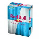 Red Bull Sugar Free | 2-pack | Blik 12 x 250 ml