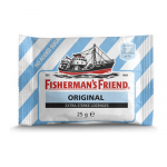 Fisherman's Friend Original Extra Strong suikervrij 24 zakjes