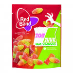Red Band Duo Winegums Zoet Zuur 225 gr 10 zakjes