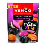 Venco Droptoppers Zoet&Fruitig 255 gr 10 zakjes