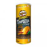 Pringles Tortilla Chips Spicy Chilli 160 gr 18 stuks