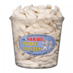 Haribo Witte Muizen 150 stuks
