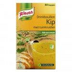 Knorr drinkbouillon Kip doos met 80 zakjes
