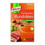 Knorr drinkbouilon Rundvlees doos met 80zakjes