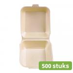 Hamburgerbak | Groot | 500 stuks