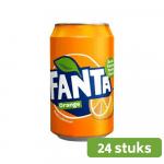 Fanta orange (DK) | Blik 24 x 33 cl