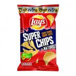Lay's Superchips Naturel 215 gr 8 zakken