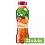 Fuze Black Tea Peach Hibiscus 0,4 liter 12 stuks