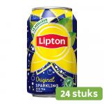 Lipton Ice Tea Sparkling | Blik 24 x 33 cl