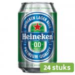 Heineken 0.0% | Alcoholvrij | Blik 24 x 33 cl