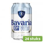 Bavaria 0.0 bier wit blik 24 x 33 cl 9 (4 x 6 pack)