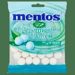 Mentos   Pepermuntballen   12 x 242 gram