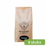 Meesterschap Espresso dark roast koffiebonen 8 x 1 kg