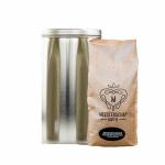Meesterschap snelfilter koffie blik medium roast 4 x 1.25 kg