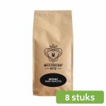 Meesterschap dark roast instant koffie 8 x 500 gram