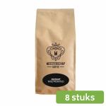 Meesterschap mild roast instant koffie 8 x 500 gram