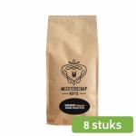 Meesterschap premium dark roast instant koffie 8 x 500 gram
