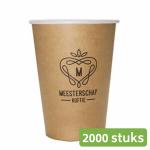 Meesterschap koffiebekers karton 180 ml 2000 stuks