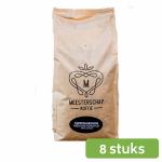 Meesterschap medium roast Espresso koffiebonen 8 x 1 kg