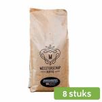 Meesterschap medium roast Espresso koffiebonen UTZ 8 x 1 kg