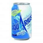 Aquarius Wit Lemon blik 33 cl. 24 fl.