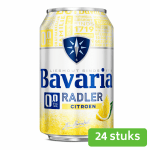 Bavaria 0.0 pils lemon blik 24 x 33 cl