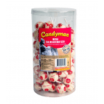 Candyman | Mega Salmiak Knotsen | 75 lollies