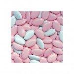 Chocoladedragees | Roze/Wit | 900 gram