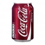 Coca Cola Cherry blik, 33cl à 24 stuks