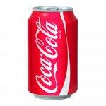 Coca Cola Regular blik, 33cl à 24 stuks