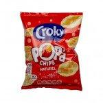 Croky | Popd Chips | Naturel | 18 x 24 gram