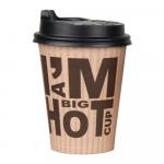 Deksel I'm a Big Hot Cup 350 ml 20 x 50 stuks