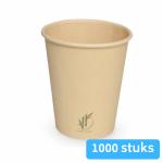 Depa Bamboe Koffiebeker naturel 250 ml 8oz 20 x 50 stuks